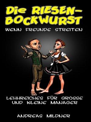 cover image of Die Riesenbockwurst