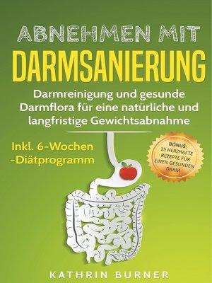 cover image of Abnehmen mit Darmsanierung