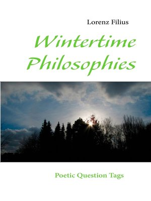 cover image of Wintertime Philosophies