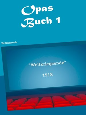 cover image of Opas Buch I