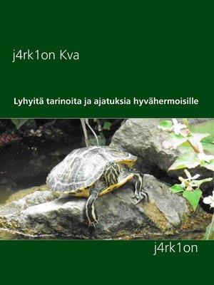 cover image of Lyhyitä tarinoita ja ajatuksia hyvähermoisille