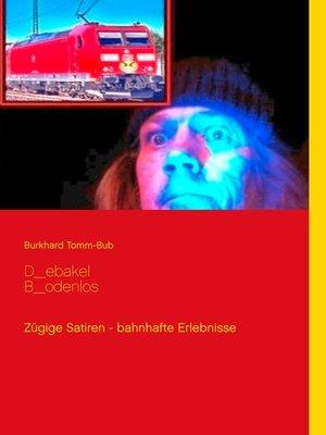 cover image of D_ebakel B_odenlos