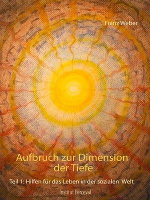 cover image of Aufbruch zur Dimension der Tiefe