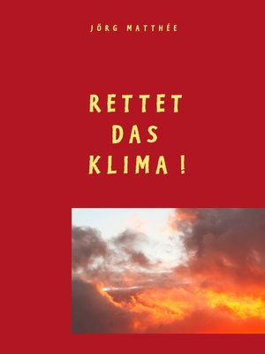 cover image of Rettet das Klima!