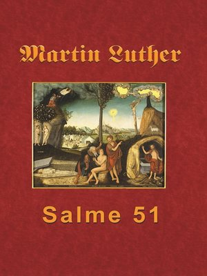 cover image of Martin Luther--Salme 51