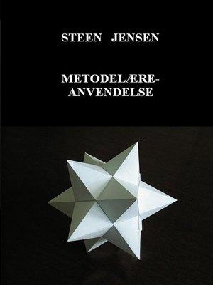 cover image of Metodelære-anvendelse