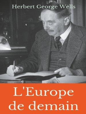 cover image of L'Europe de demain