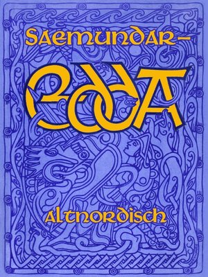 cover image of Saemundar-Edda