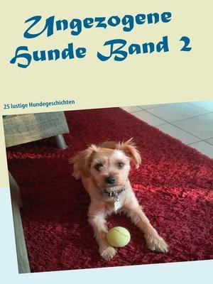 cover image of 25 lustige Hundegeschichten