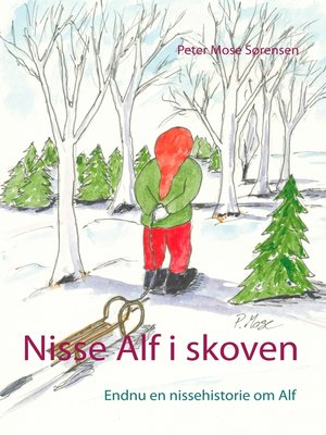 cover image of Nisse Alf i skoven