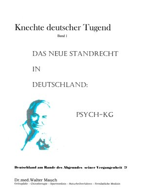 cover image of Knechte deutscher Tugend, Band I