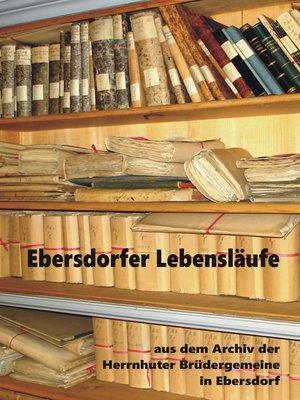 cover image of Ebersdorfer Lebensläufe