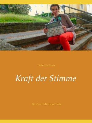 cover image of Kraft der Stimme