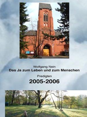 cover image of Das Ja zum Leben und zum Menschen, Band 3