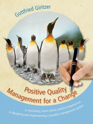cover image of Positive Quality Management for a Change
