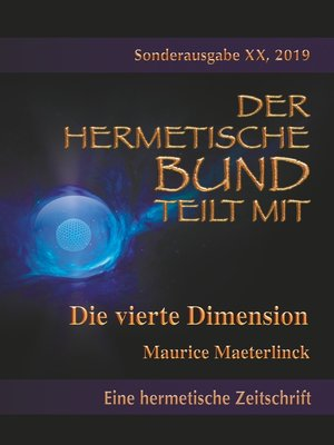 cover image of Die vierte Dimension