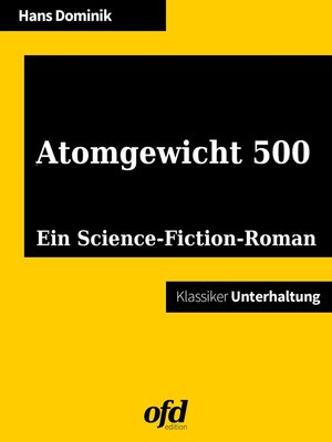 cover image of Atomgewicht 500