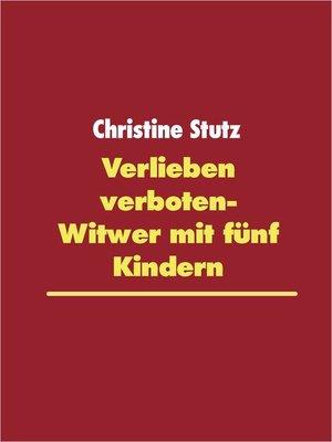 cover image of Verlieben verboten- Witwer mit fünf Kindern