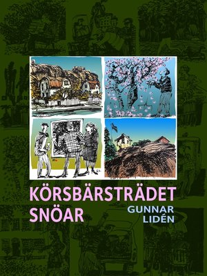 cover image of Körsbärsträdet snöar