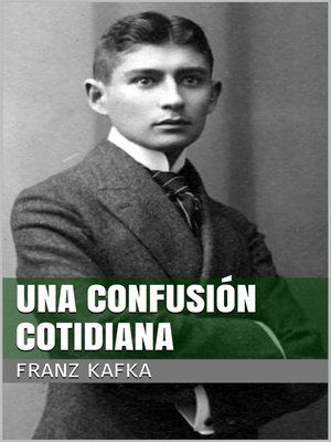 cover image of Una confusión cotidiana