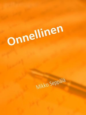 cover image of Onnellinen