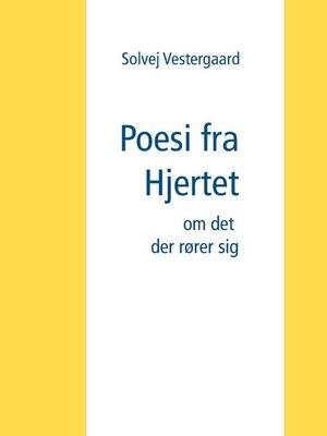 cover image of Poesi fra Hjertet