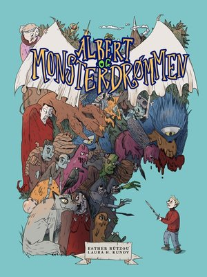 cover image of Albert og Monsterdrømmen