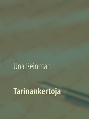 cover image of Tarinankertoja