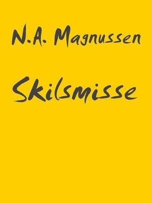 cover image of Skilsmisse