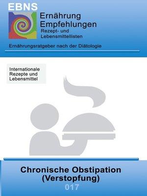 cover image of Ernährung bei Chronischer Obstipation (Verstopfung)