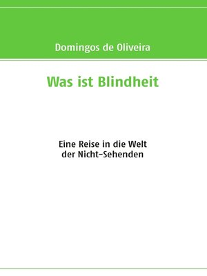 cover image of Was ist Blindheit