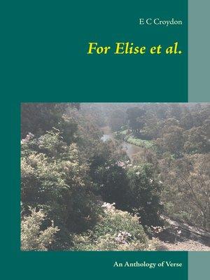 cover image of For Elise et al.