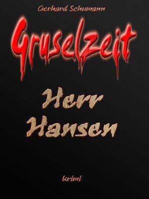 cover image of Herr Hansen