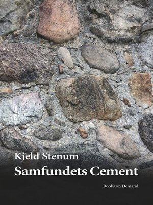cover image of Samfundets Cement