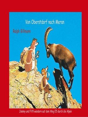 cover image of Von Oberstdorf nach Meran