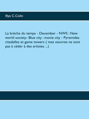cover image of La brèche du temps--December--NWS