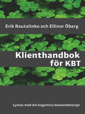 cover image of Klienthandbok för KBT