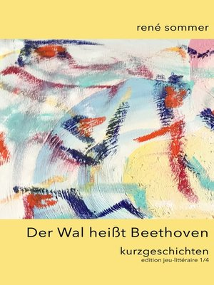cover image of Der Wal heisst Beethoven