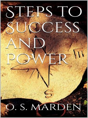 cover image of Steps to Success and Power