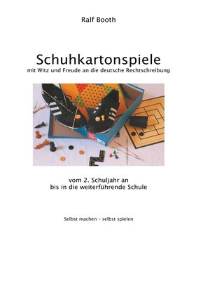 cover image of Schuhkartonspiele
