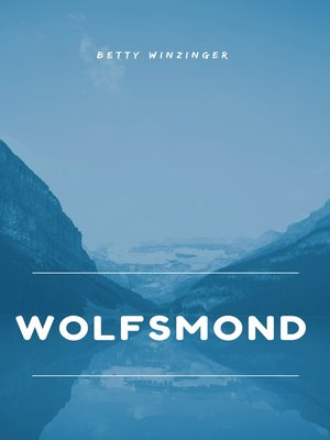 cover image of Wolfsmond
