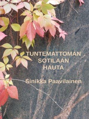 cover image of Tuntemattoman Sotilaan Hauta