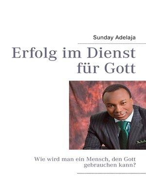 cover image of Erfolg im Dienst für Gott