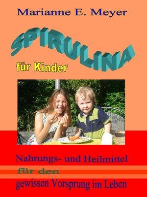cover image of Spirulina für Kinder
