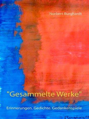 """cover image of """"Gesammelte Werke"""""""