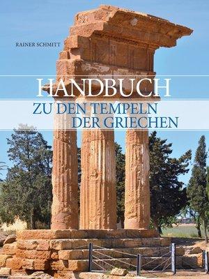 cover image of Handbuch zu den Tempeln der Griechen