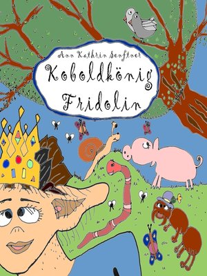 cover image of Koboldkönig Fridolin