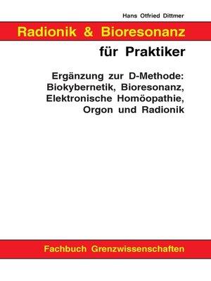 cover image of Radionik und Bioresonanz für Praktiker