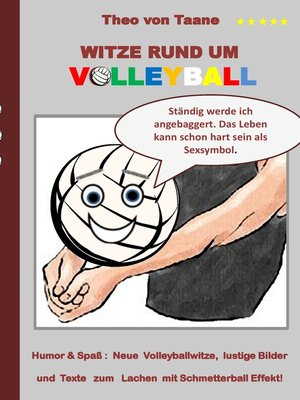cover image of Witze rund um Volleyball