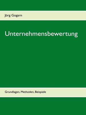 cover image of Unternehmensbewertung